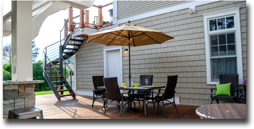 Vermont Featured Deck or Porch - custom built by DC Construction in Burlington, VT